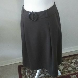 TALBOTS brown skirt.  Size 8